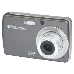 @polaroid rb t1031s original box titanium  camera 10mp lithiu