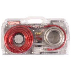 STREETWIRES PSK04R 4 AWG AMP KIT RED/BLACK