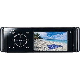 JVC KD-AVX44 - DVD player with LCD monitor, AM/FM tuner, digital player - El Kameleon