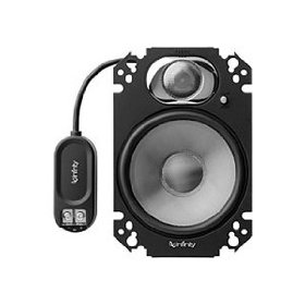 Infinity 4629CFP 180W (Peak) 4 x 6 -Inch Custom Fit Two-Way Plate Speakers (Pair)