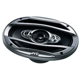 JVC In-Vehicle CSHX6957X 6x9-Inch 5-Way Coaxial Speaker (Single, Black)