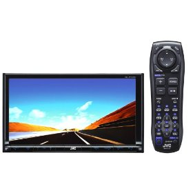 JVC KW-AVX720 Double-DIN Multimedia Satellite/HD Radio/Bluetooth-Ready Receiver with 7-Inch Widescreen Touch Panel Monitor, DVD/CD/iPod/iPhone USB 2.0