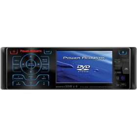 Power Acoustik Ptid-4007 3.6-Inch Widescreen In-Dash Monitor With Dvd & Am/Fm