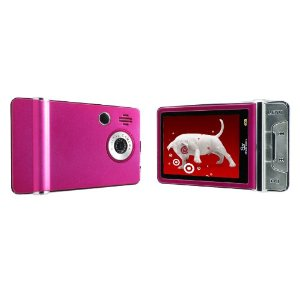 Sly Electronics 4 GB Video MP3 Player with 2.4-Inch LCD and 5MP Camera (Pink)