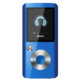 Coby 2GB Flash MP3 Player with FM and Color Display (Blue)