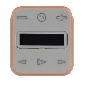 Memorex Clip & Play MMP8001-ORG 1GB USB 2.0 Clip Style MP3 Player (Orange/Gray)