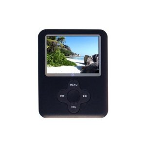 VISUAL LAND, INC. V-Bop 8GB Silver MP3/MP4/FM Media Player