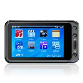 MEElectronics RockMee II 8GB 3.0-Inch Wide Screen Portable Media Player