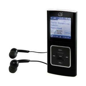 GPX MW8847DT 2GB WMA/MP3 Digital Audio Player