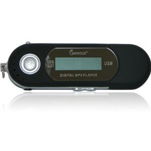 Impecca MP1201F 2GB Black Digital Media Player with FM Tuner
