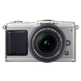 Olympus PEN E-P1 12.3 MP Micro Four Thirds Interchangeable Lens Digital Camera with 14-42mm f/3.5-5.6 Zuiko Digital Zoom Lens (Silver Body/Black Lens)