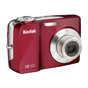 Kodak Easyshare C182 12MP Digital Camera with 3x Optical Zoom and 3-inch LCD (Red)