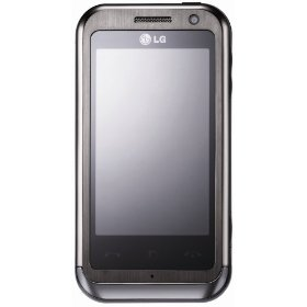 LG KM900 Arena Touchscreen Titan Unlocked Phone--International Version with No Warranty (Black)