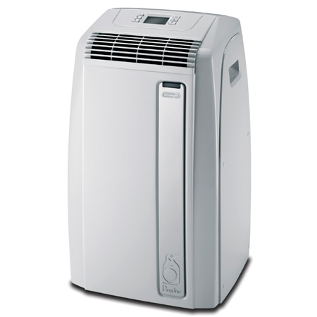 Delonghi paca120e portable air conditioner 12k btu green gas