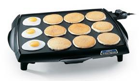 Presto 07046 big griddle electric with tilt