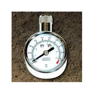 VIAIR VIAIR-90055 Tire Gauge 1.5 Inch 0-35 PSI