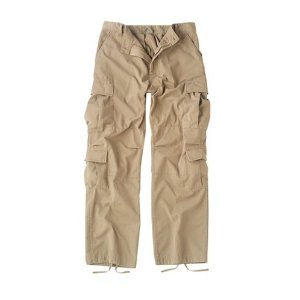 Camouflage Vintage Paratrooper Fatigues Cargo Pants (More Colors Available)