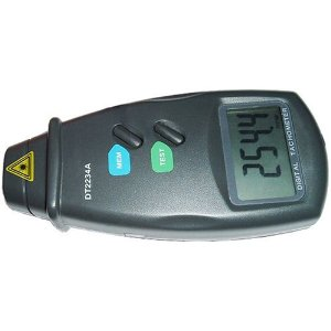 HQRP Non Contact Digital Laser / Photo Tachometer (Digital large size LCD display) NEW