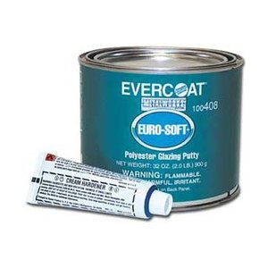 Evercoat Eurosoft Glazing Putty 1.25 lb