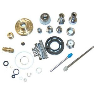 SPARE PARTS KIT FOR THE G6600 HVLP SPRAY GUN TCP Global Full Size Spray Gun Repair Kit