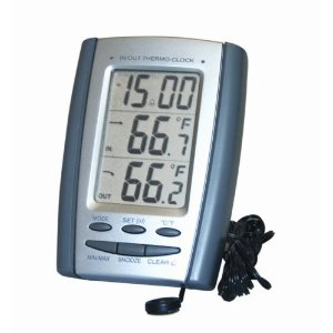 General Tools DT898P Indoor Outdoor Thermometer