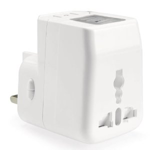 Global Adapter with 2 USB Ports