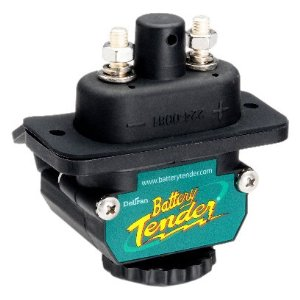 Battery Tender 027-0004-BK Black Power Connect Trolling Motor D/C Connector