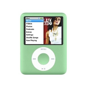 Apple iPod nano 8 GB Green (3rd Generation) OLD MODEL