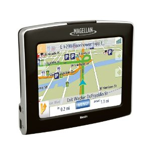 Magellan Maestro 3250 3.5-Inch Portable GPS Navigator with Traffic and Voice Command