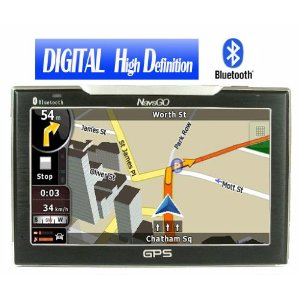 GO790 Digital High Definition GPS Navigation System USA/Canada Package