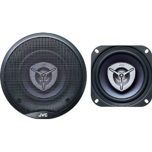 JVC CS-V425 4-Inch 2-Way Coaxial Speakers (Pair, Blue)