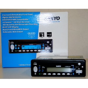 SANYO ECD-T1136 DIGITAL AM/FM STEREO WITH CD PLAYER