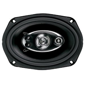 Boss Audio D69.5 5-Way 6x9-Inch Diablo Speaker - Single (Black)