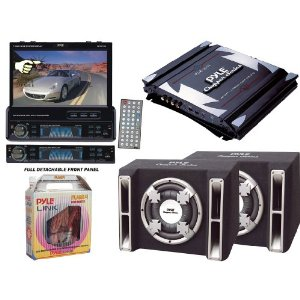 Pyle Mega DVD/Amplifier/Subwoofer/Installation Package for Car/Truck/SUV
