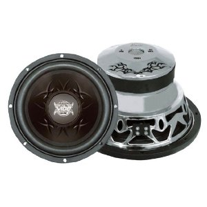 Lanzar VW84 Vibe 800 Watts 8-Inch 4 Ohm Subwoofer