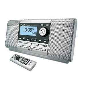 Timex AM FM Clock Radio with XM Satellite Capability