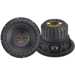 Lanzar MAX12 Max 12-Inch 1000 Watt Small Enclosure 4 Ohm Subwoofer