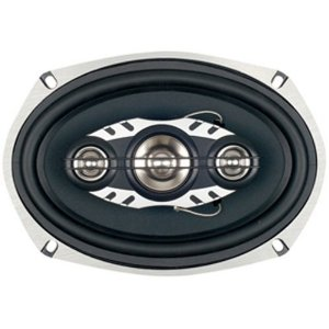 Boss Audio LA694 6x9-Inch 4-Way Speaker with Diecast Aluminum Frame - Single