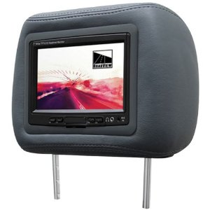 Roadview RHS-7.0G 7-Inch Universal Headrest Monitor (Gray)