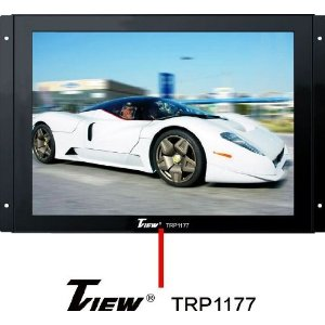 Brand New Tview Trp1177 11 Inch Raw Panel Flat Screen Lcd Car Monitor with Vga Input for a Computer **These Big Monitors Can Be Custom Installed Anywhere**