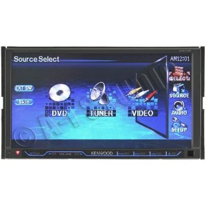 Kenwood DNX7120 - Navigation system with DVD player, LCD monitor, digital player and radio