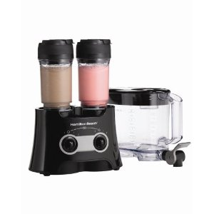 Hamilton Beach 52145H Dual Wave Versatile Blender, Black