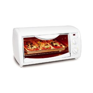 Proctor Silex 31114 Extra-Large Toaster Oven/Broiler, White