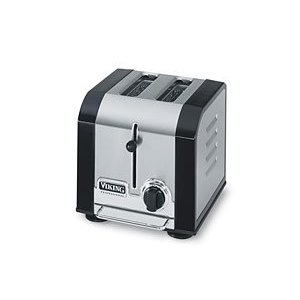 Viking VT200BK Professional Black Toaster 2-slice