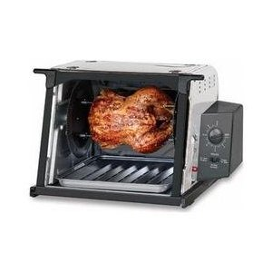 Ronco Stainless Steel Compact Rotisserie