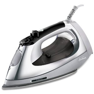Sunbeam 3056-020 Simple Press Iron with Stainless-Steel Soleplate and Auto Shut-Off