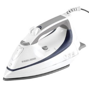 Black & Decker F1000 Steam Advantage Iron, White
