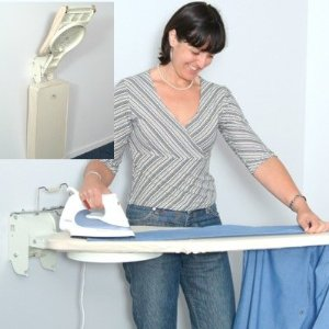 Stowaway Wall Mounted Compact Stow Away Ironing Board - Better Lifestyle #OSUM-01