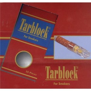 Tarblock Cigarette Filters