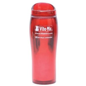 Vitamix 15028 smoothie cup, 14oz, red.